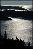 Duncan Bay from Louise Lookout, afternoon. Isle Royale National Park ( color)
