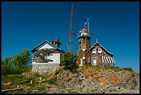 Lighthouse, Passage Island. Isle Royale National Park ( color)