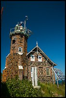 Lighthouse on Passage Island. Isle Royale National Park ( color)