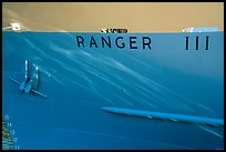 Ranger III anchor and name. Isle Royale National Park ( color)