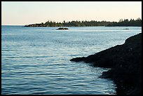 Outer islands from Tookers Island. Isle Royale National Park ( color)