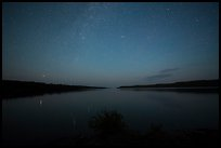 Night, Moskey Basin. Isle Royale National Park ( color)