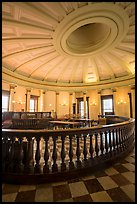 Circuit court 4 restored to 1850 appearance, Old Courthouse. Gateway Arch National Park ( color)