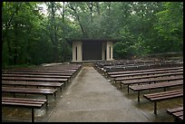 Main park amphitheater. Mammoth Cave National Park ( color)
