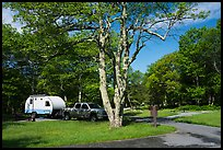 Big Meadows Campground. Shenandoah National Park ( color)