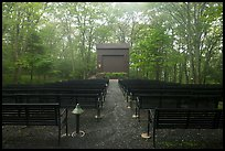 Amphitheater, Big Meadows Campground. Shenandoah National Park ( color)