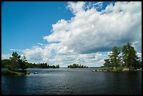 American Channel, Rainy Lake. Voyageurs National Park ( color)