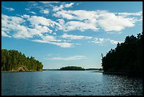 Kings William Narrows and Crane Lake. Voyageurs National Park ( color)