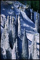 Ancient fossilized vents. Crater Lake National Park ( color)
