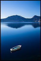 Tour boat, Cleetwood Cove. Crater Lake National Park ( color)