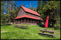 Drakesbad Guest Ranch. Lassen Volcanic National Park, California, USA.