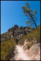 High Peaks trail. Pinnacles National Park ( color)