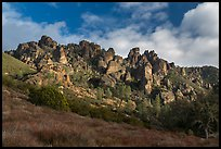 Pinnacles from West side. Pinnacles National Park ( color)