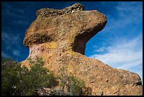 Anvil rock formation. Pinnacles National Park ( color)