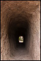 Tunnel. Pinnacles National Park, California, USA. (color)