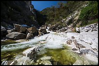 Marble fork of Kaweah River. Sequoia National Park ( color)