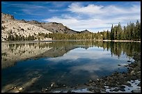May Lake shore. Yosemite National Park ( color)