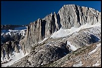 Craggy face of North Peak mountain. Yosemite National Park ( color)