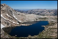 Upper McCabe Lake from above. Yosemite National Park ( color)