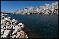 Shepherd Crest and Upper McCabe Lake shore. Yosemite National Park ( color)