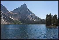 Lower Young Lake and Ragged Peak. Yosemite National Park ( color)