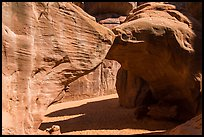 Sand Dune Arch. Arches National Park ( color)