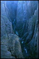 The Narrows seen from Chasm view, North Rim. Black Canyon of the Gunnison National Park ( color)
