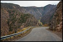 East Portal Road. Black Canyon of the Gunnison National Park ( color)