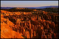 Silent City in Bryce Amphitheater from Bryce Point, sunrise. Bryce Canyon National Park ( color)