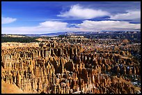 Silent City in Bryce Amphitheater from Bryce Point, morning. Bryce Canyon National Park ( color)