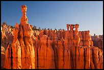 Thor Hammer and Temple of Osiris. Bryce Canyon National Park ( color)