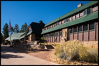Bryce Canyon Lodge. Bryce Canyon National Park ( color)