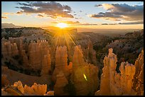 Sunrise, Fairyland Point. Bryce Canyon National Park ( color)