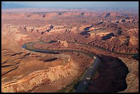 Aerial view of Bonita Bend. Canyonlands National Park ( color)
