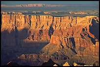 Desert View, sunset. Grand Canyon National Park, Arizona, USA. (color)