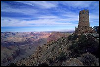 Watchtower, late afternoon. Grand Canyon National Park ( color)