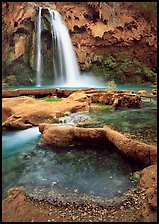 Havasu Canyon near Hualapai Hilltop. Grand Canyon National Park ( color)