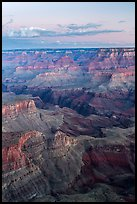 View from Moran Point at dawn. Grand Canyon National Park ( color)
