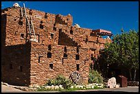 Hopi House in pueblo style. Grand Canyon National Park ( color)