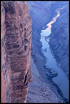 Cliffs and Colorado River, Toroweap. Grand Canyon National Park ( color)