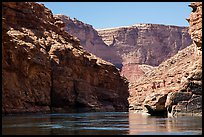 Marble Canyon of the Colorado River. Grand Canyon National Park ( color)