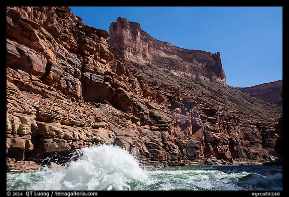 Wave in Marble Canyon. Grand Canyon National Park (color)