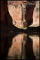 Shadows and reflections, Marble Canyon. Grand Canyon National Park ( color)