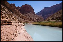 Turquoise Little Colorodo River in Little Colorado Canyon. Grand Canyon National Park ( color)