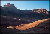 Buttes and mesas, late afternoon. Grand Canyon National Park ( color)