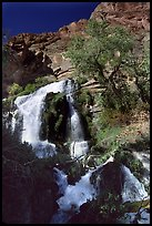 Thunder river upper waterfall. Grand Canyon National Park ( color)
