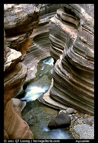 Deer Creek Narrows. Grand Canyon National Park, Arizona, USA.
