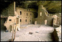 Spruce Tree house, ancestral pueblan ruin. Mesa Verde National Park ( color)