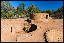 Far View Tower. Mesa Verde National Park ( color)