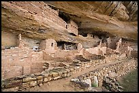 Mug House Ancestral pueblo. Mesa Verde National Park ( color)